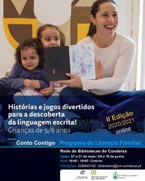 Ler mais: Vai começar a 2.ª Edição do Conto Contigo – Programa de Literacia Familiar