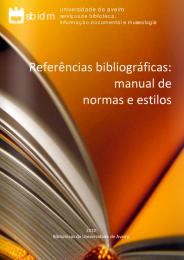 Ler mais: Normas para referências bibliográficas